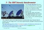 3 the hbt intensity interferometer