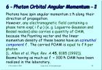 6 photon orbital angular momentum 1