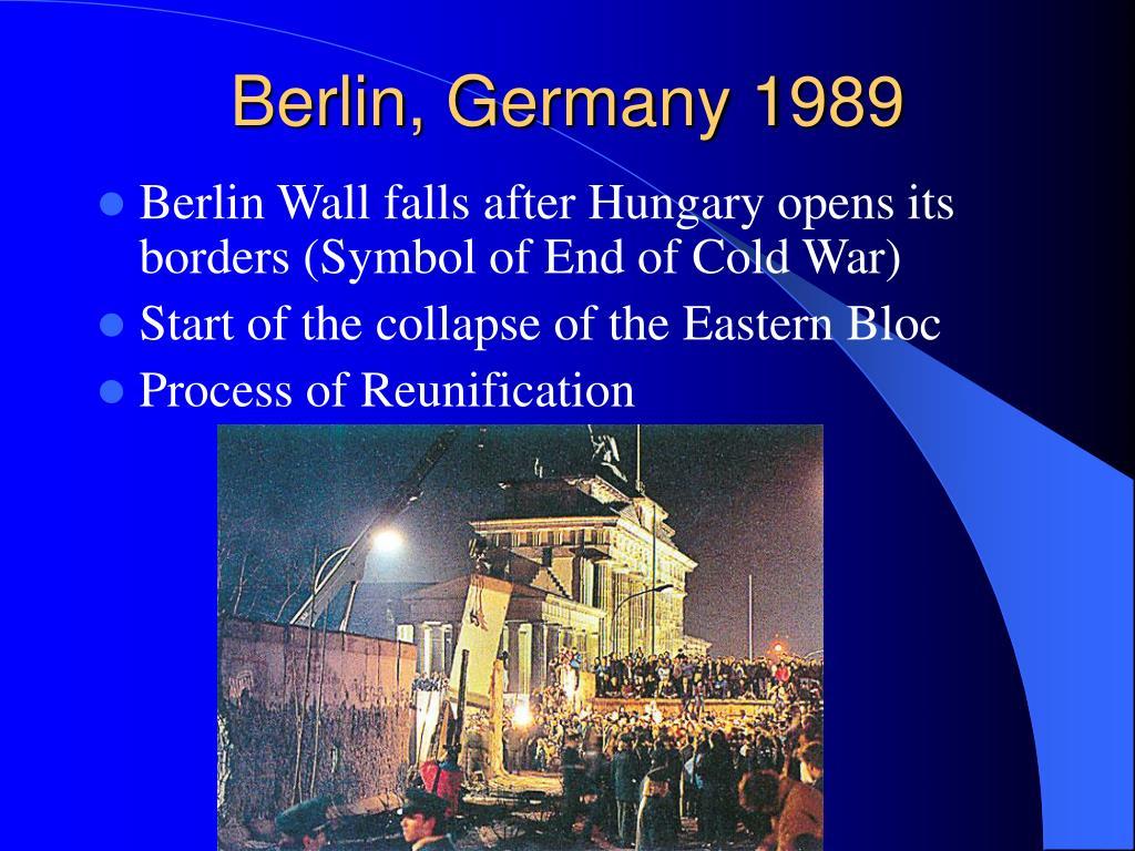 Berlin, Germany 1989