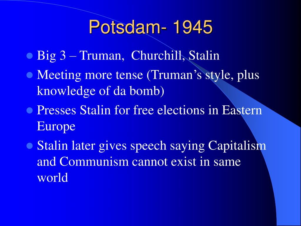 Potsdam- 1945