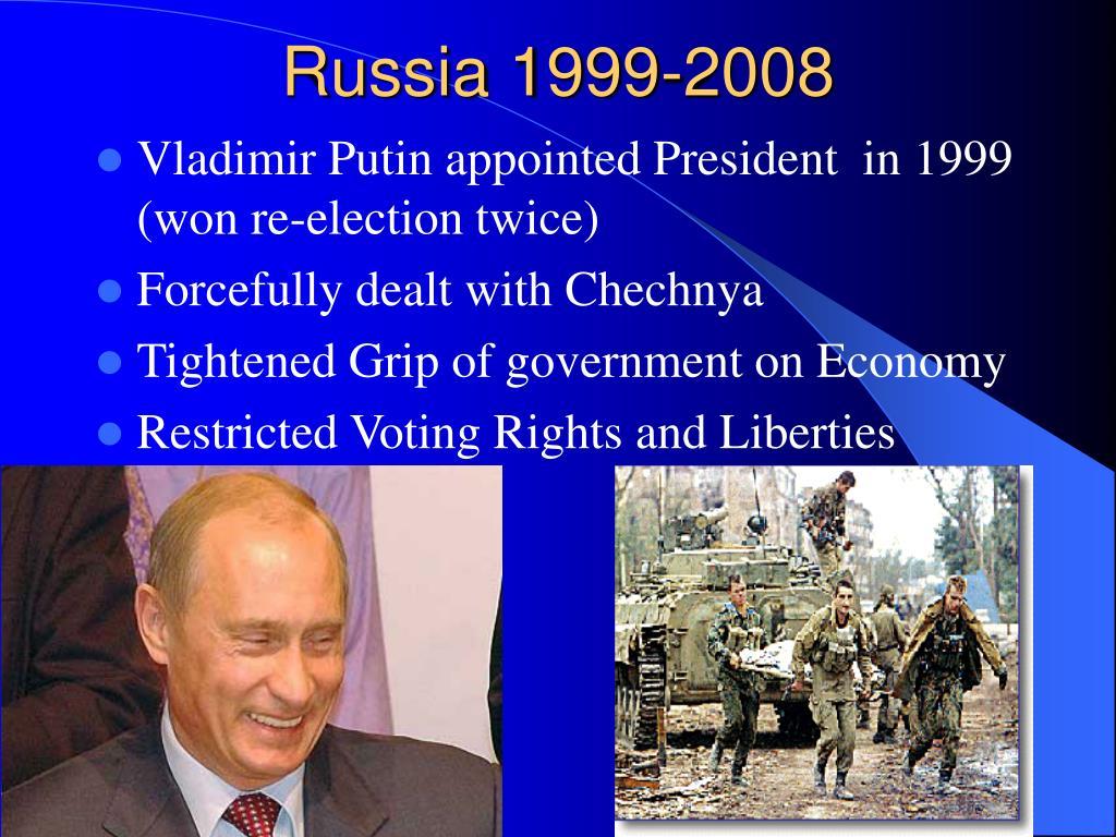 Russia 1999-2008