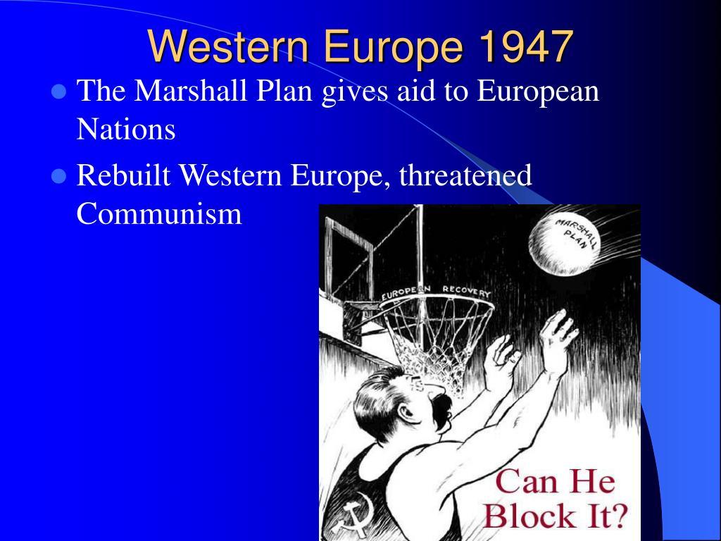 Western Europe 1947
