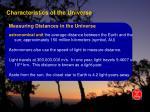 characteristics of the universe4