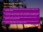 space based astronomy17