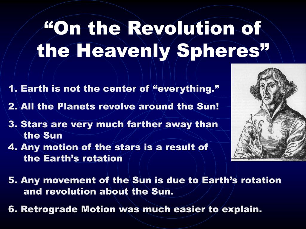 """""""On the Revolution of the Heavenly Spheres"""""""