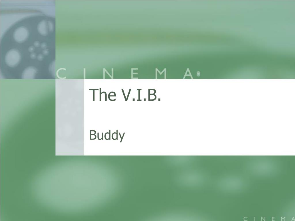 the v i b l.