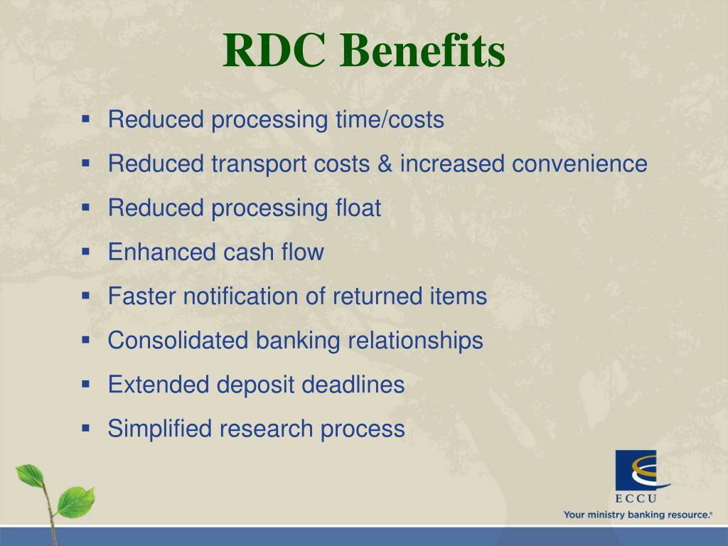 RDC Benefits
