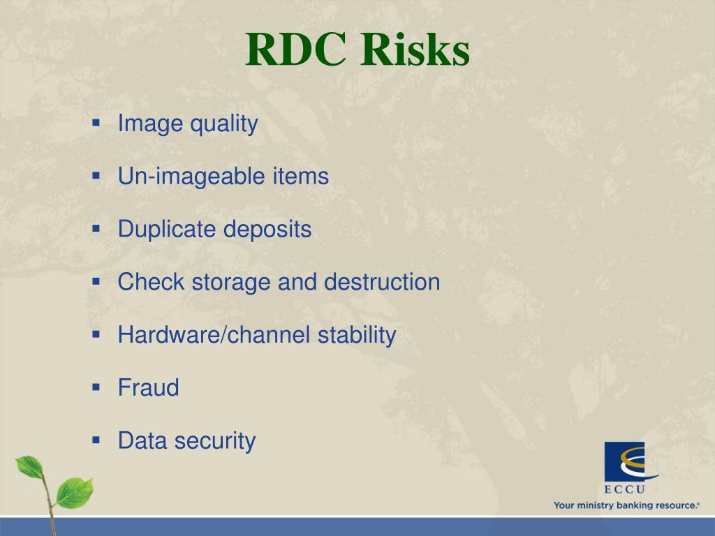 RDC Risks