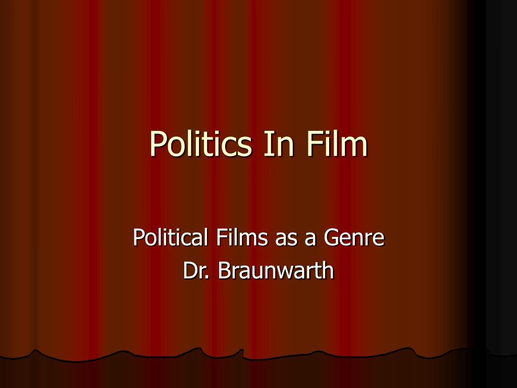 politics in film l.