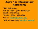 astro 10 introductory astronomy