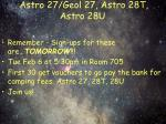 astro 27 geol 27 astro 28t astro 28u