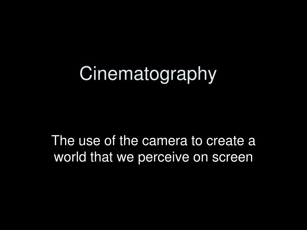 cinematography l.