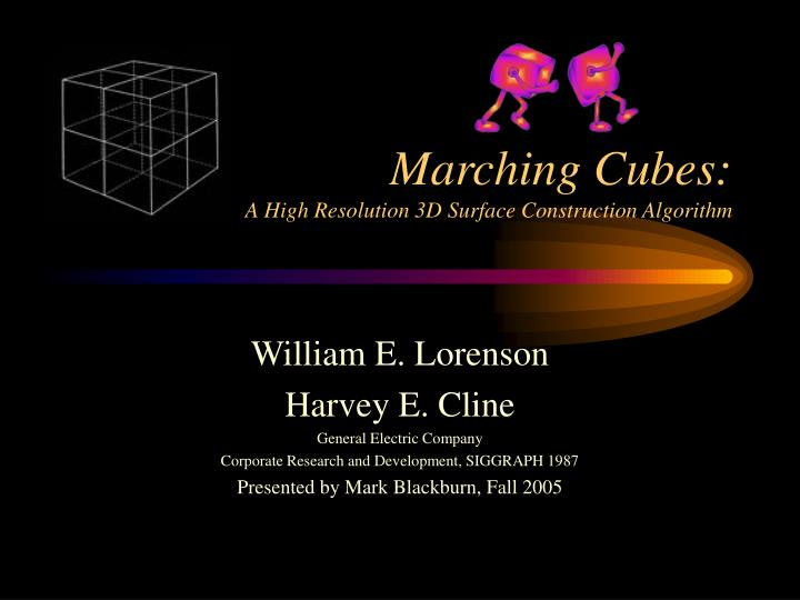 Marching cubes a high resolution 3d surface construction algorithm