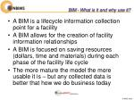 bim what is it and why use it