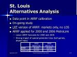 st louis alternatives analysis1