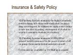 insurance safety policy