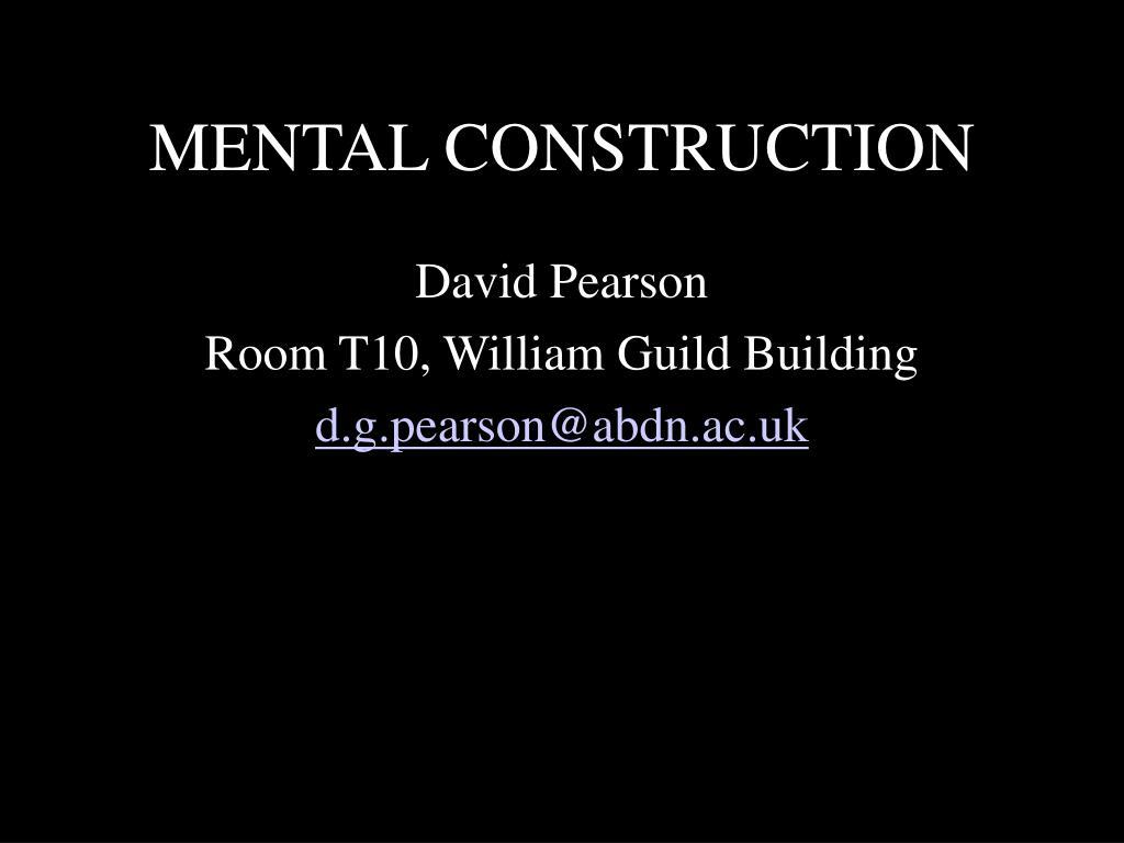 mental construction l.