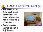 health action plan 2