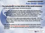 manufacturing assembly auto sector global