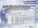 manufacturing assembly capital intensive11