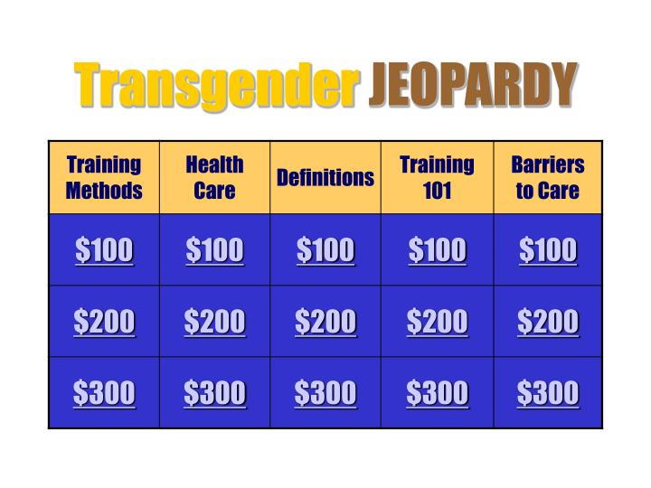 transgender jeopardy n.