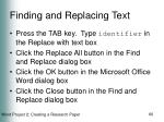 finding and replacing text60