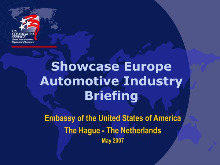 showcase europe automotive industry briefing n.