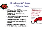 miracle on 34 th street by valentine davies
