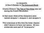 le jacquerie how it relates to the graveyard book