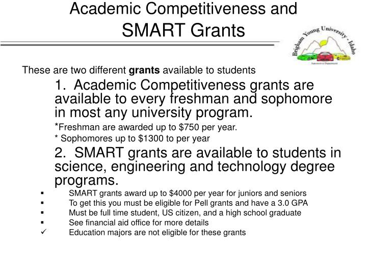 Academic Competitiveness and