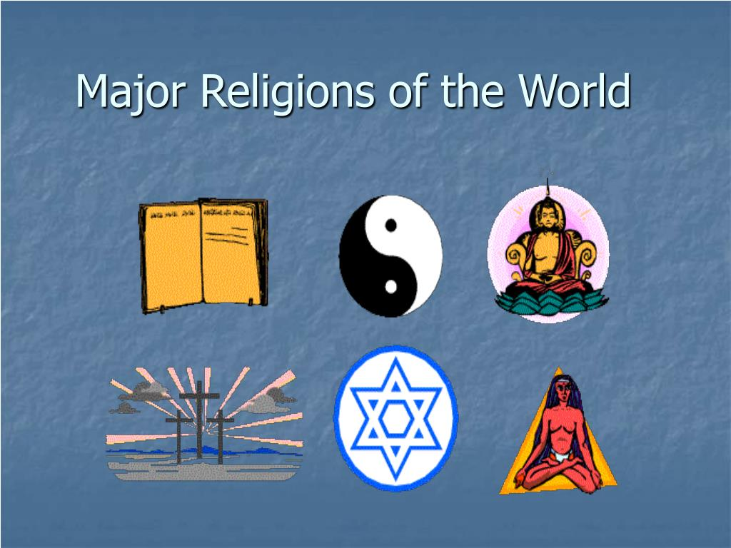 major religions of the world l.