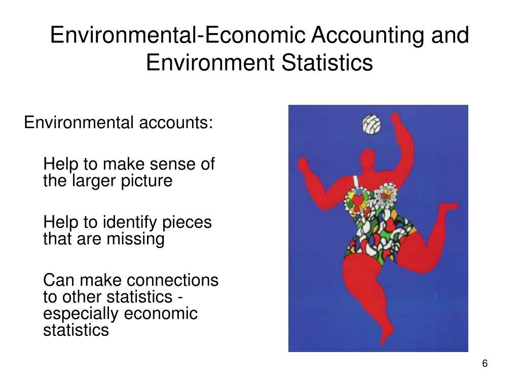 Environmental-Economic Accounting and Environment Statistics