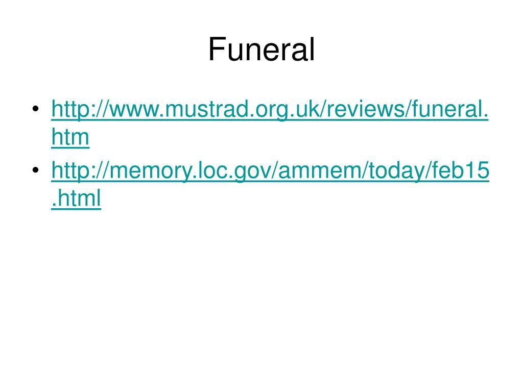 funeral l.
