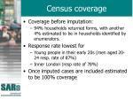 census coverage44