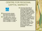centre for regional capital markets