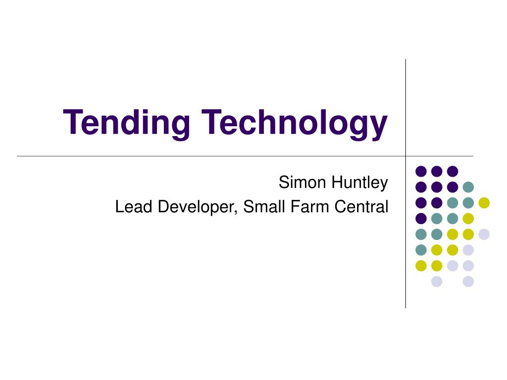 tending technology l.