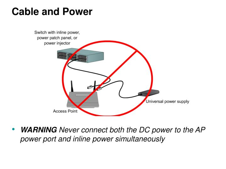 Cable and Power