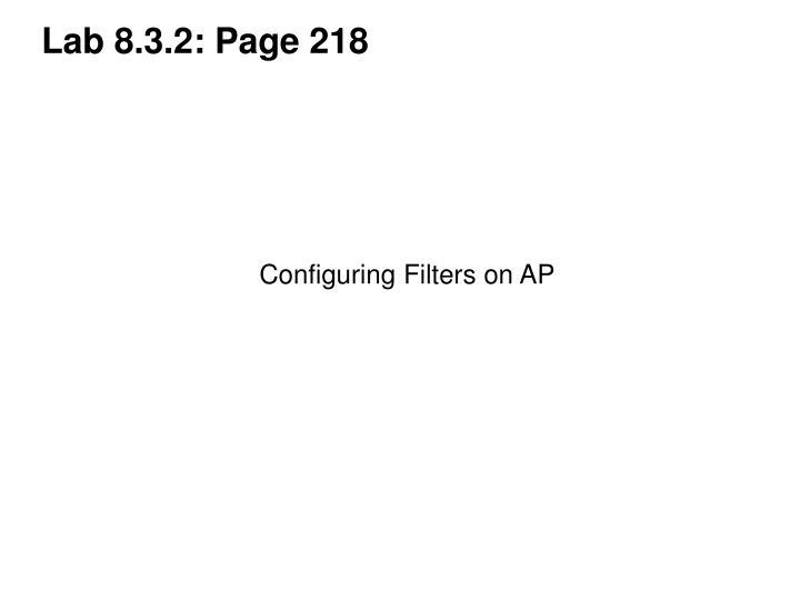 Lab 8.3.2: Page 218