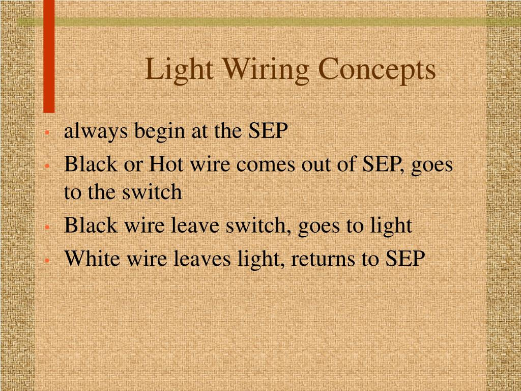 Light Wiring Concepts
