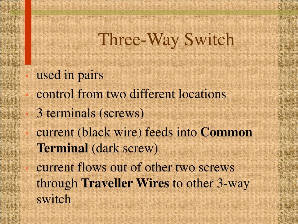 Three-Way Switch