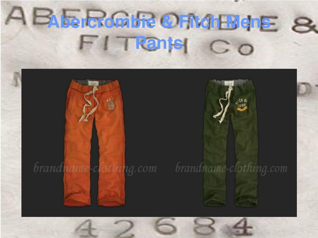 Abercrombie & Fitch Mens Pants