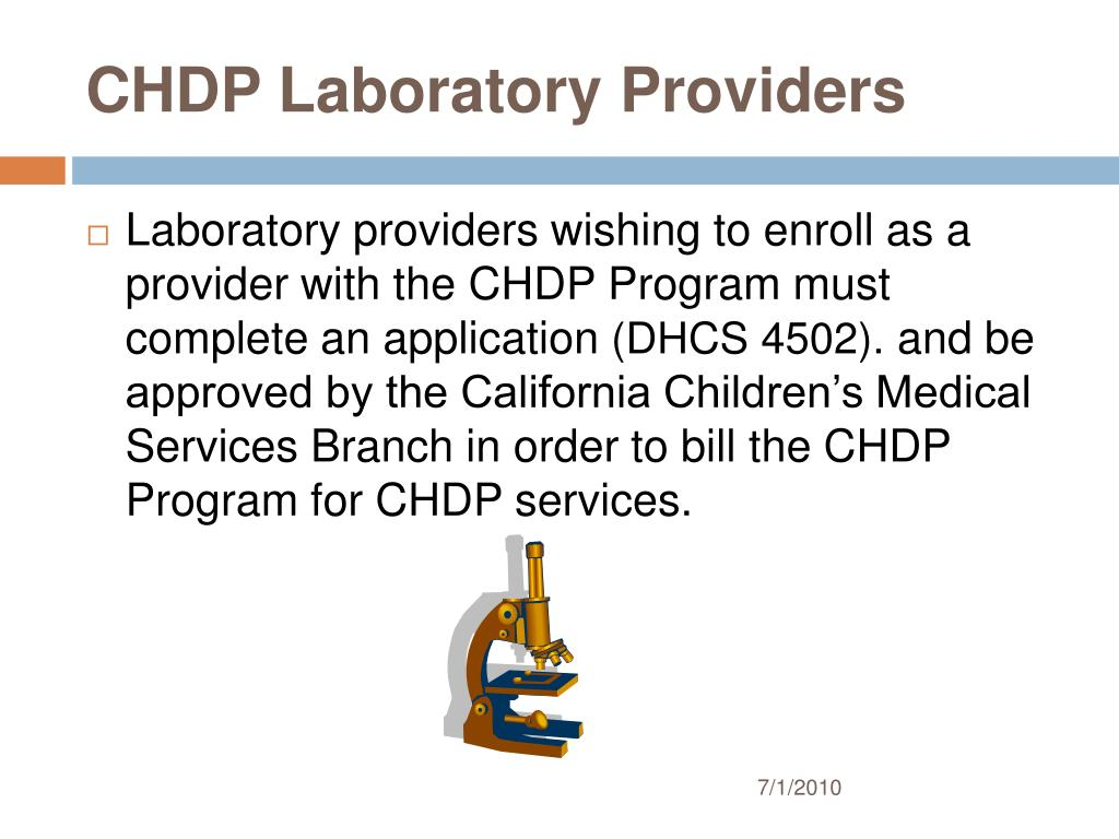 CHDP Laboratory Providers