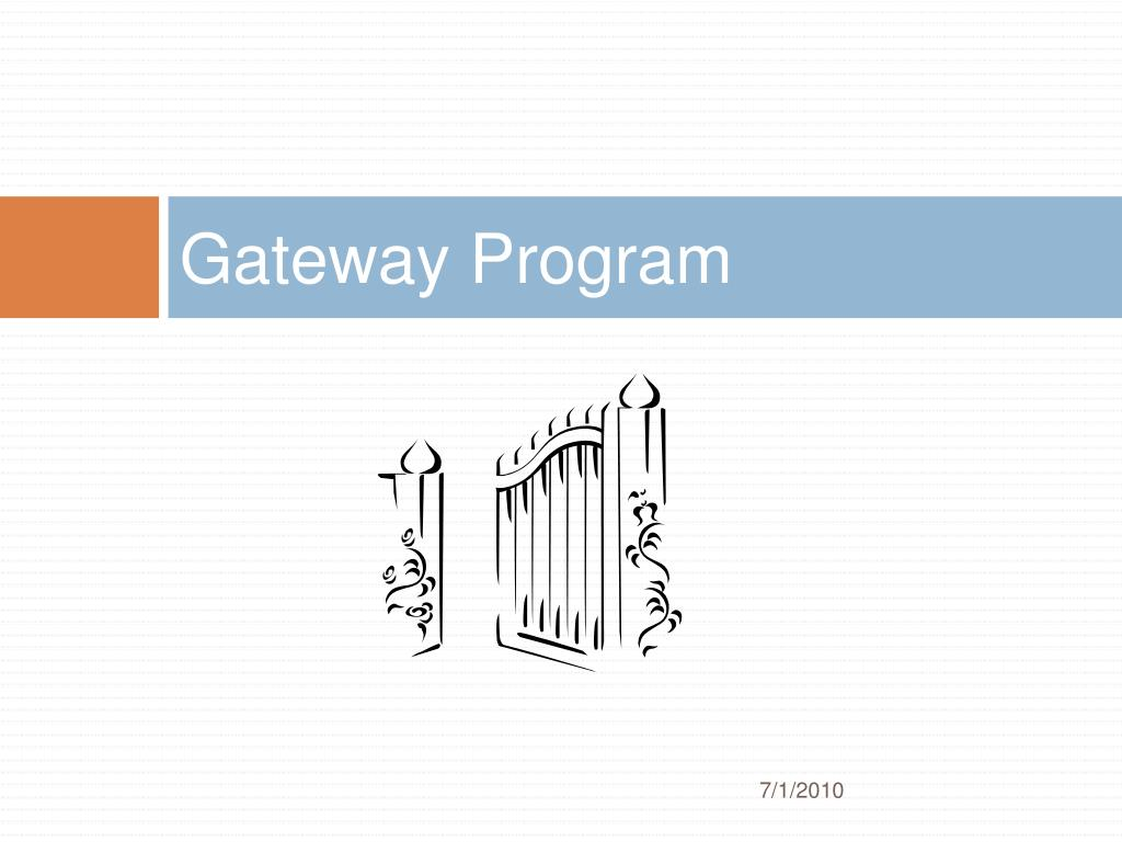 Gateway Program