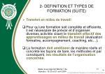 2 definition et types de formation suite11