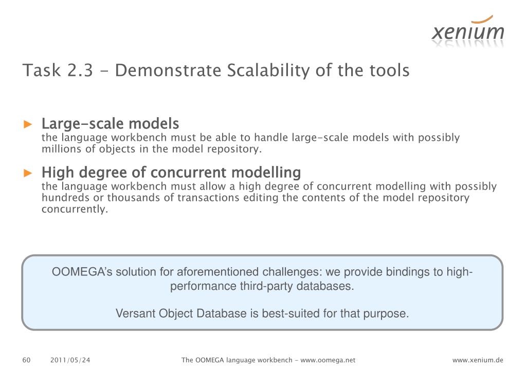 Task 2.3 - Demonstrate Scalability of the tools