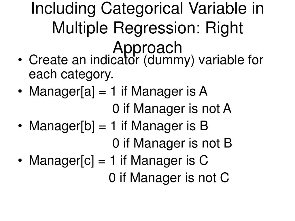 lecture summarizing categorical variables
