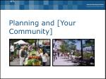 planning and your community