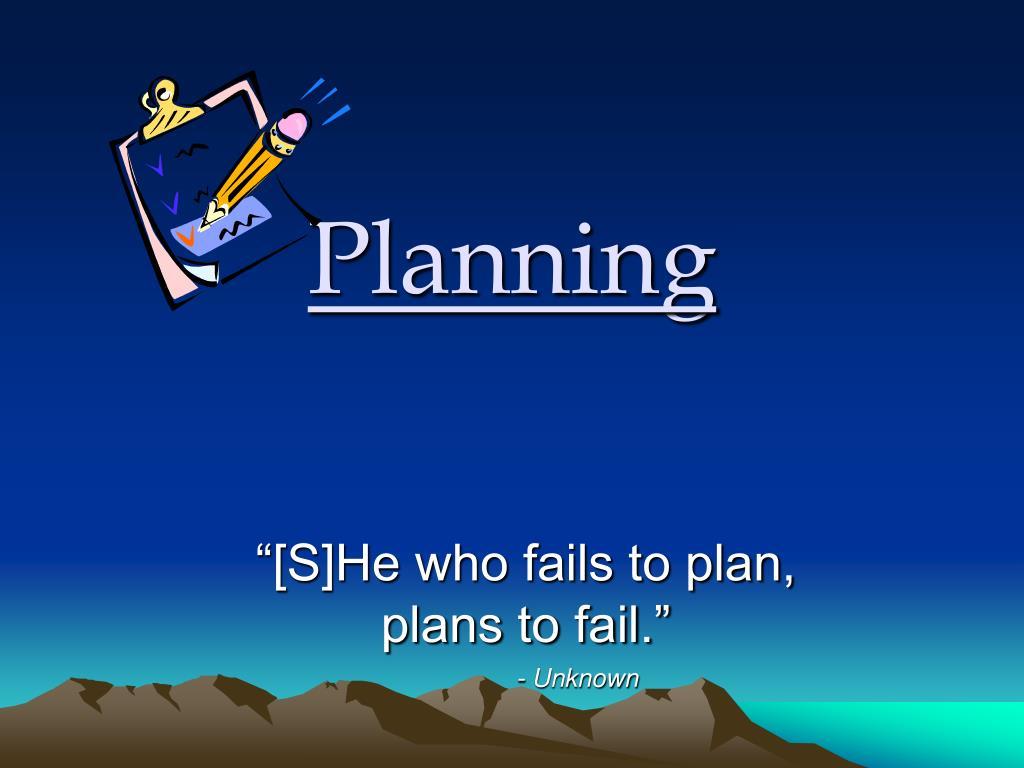 planning l.