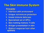 the skin immune system1