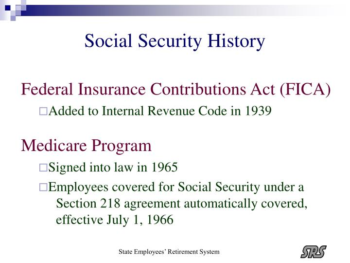 Ppt Update On Social Security Coverage For Public Employees